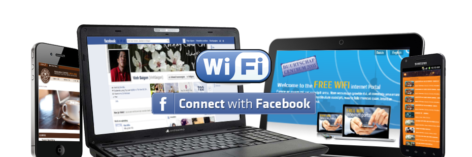 hotspot connect with facebook
